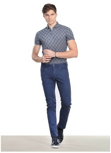 Kip Kip Regular Fit Düz İndigo Pantolon Lacivert